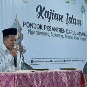 """Kajian Kitab Ushfuriyah (Hadits 7) : """"Fadhilah Kalimat Tauhid"""" – Ustadz Makinun Amin, S.Pd"""