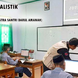 Komunitas Ilmiah dan Sastra Santri Darul Amanah Gelar Pelatihan Dasar-Dasar Jurnalistik