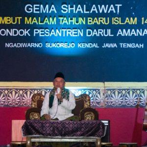 Refleksi Malam Tahun Baru Islam 1442 H : Pondok Pesantren Darul Amanah Adakan Gema Sholawat
