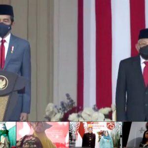 Istana Kepresidenan RI Undang Pondok Pesantren Darul Amanah Ikuti Rangkaian Upacara HUT Kemerdekaan RI Ke-75 Melalui Video Conference