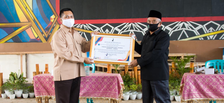 Darul Amanah Terima Penghargaan Dari KWARDA Jateng