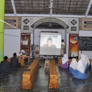 Fakultas Ekonomi dan Bisnis Universitas Brawijaya Malang dan Pondok Pesantren Darul Amanah Kendal Gelar Workshop Kewirausahaan Melalui Virtual
