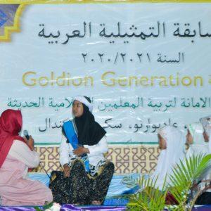 Tingkatkan Bahasa Santri : Bagian Bahasa Pondok Pesantren Darul Amanah Gelar ADC dan EDC