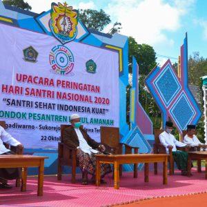HSN 2020 : Pondok Pesantren Darul Amanah Gelar Upacara Peringatan Hari Santri
