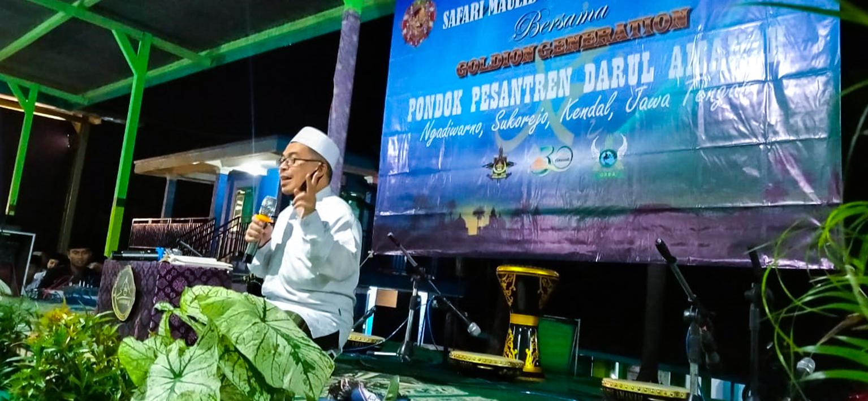 Pondok Pesantren Darul Amanah Gelar Safari Maulid Nabi Muhammad SAW