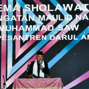 Peringati Maulid Nabi Muhammad SAW : Pondok Pesantren Darul Amanah Gelar Gema Sholawat