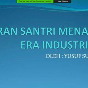 Guru Besar UIN Walisongo Semarang Beri Kuliah Umum Kepada Santri Pondok Pesantren Darul Amanah Dalam Rangka Peringatan Hari Santri Nasional 2020