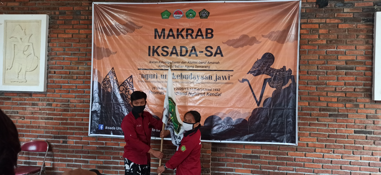 Estafet Tongkat Kepengurusan IKSADA-SA : Kaderisasi Harus Terus Hidup