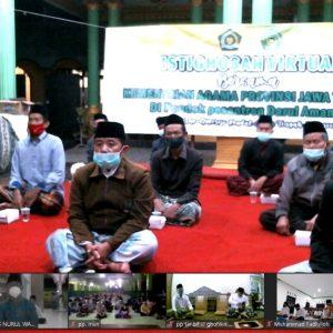 Pondok Pesantren Darul Amanah Sukorejo Kendal Ikuti Jateng Beristighosah Melalui Virtual
