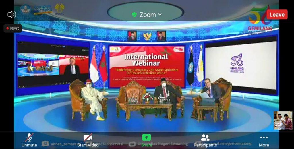 Pondok Pesantren Darul Amanah Ikuti Webinar Internasional Mendefinisikan Ulang Demokrasi dan Patriotisme Negara Untuk Dunia Muslim Yang Damai