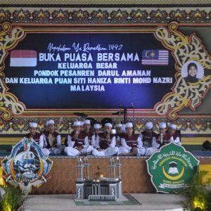 Buka Puasa Bersama Keluarga Besar Pondok Pesantren Darul Amanah bersama Puan Siti Haniza Binti Mohd Nazri Malaysia