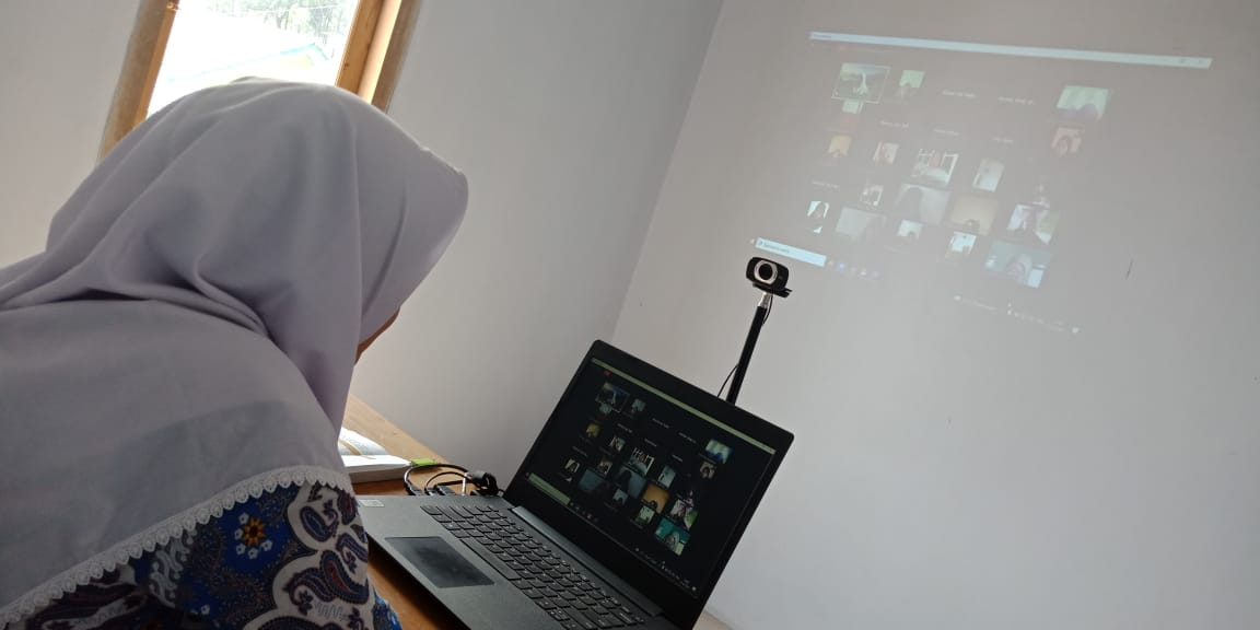 Pondok Pesantren Darul Amanah Laksanakan Pembelajaran Melalui Media Daring (Online)