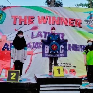 Atlet Cabor Panahan Darul Amanah Meraih Medali Perak THB Latihan Bersama Abirawa Series Batang 2021