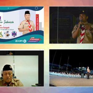 Gerakan Pramuka Pondok Pesantren Darul Amanah Gelar Webinar Smiling Scout for Indonesia