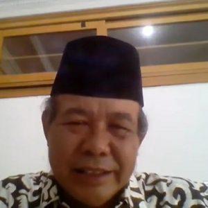 Guru Besar UIN Alauddin Makasar Beri Materi Webinar Pendidikan Kepada Santri Pondok Pesantren Darul Amanah